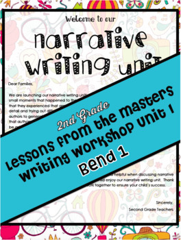 Narrative Writing Lesson Plans Grade 2 Bend 1