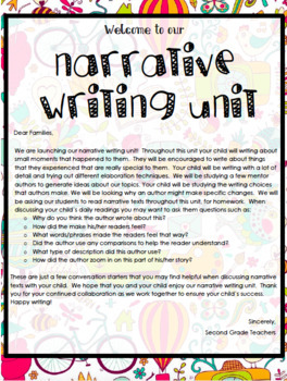 TC Narrative Writing Unit Lesson Plans Grade 2