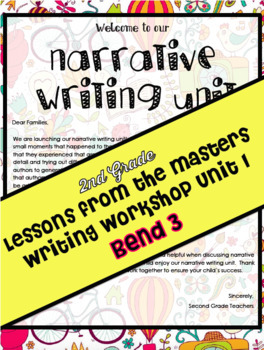 TC Lessons From The Masters Writing Workshop Lesson Plans Grade 2 Bend 3