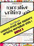 Narrative Writing Lesson Plans Grade 2 Bend 3