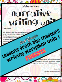 TC Lessons From The Masters Writing Workshop Unit 1 Grade