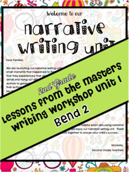 TC Lessons From the Masters Writing Workshop Lesson Plans Grade 2 Bend 2