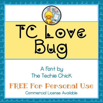 TC Love Bug font - Personal Use