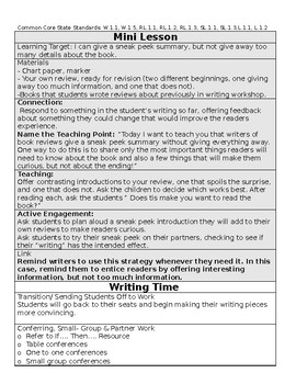 TC Opinion Writing Bend 3 BUNDLE (session 14-17)