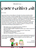 TC Poetry Writing Grade 2 ENTIRE UNIT Lesson Plans EDITABLE