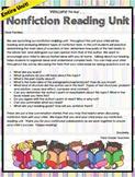 Nonfiction Reading Unit Lesson Plans Grade 3 Unit 2 ENTIRE UNIT