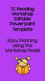 TC Reading Workshop Lesson Plan Template EDITABLE