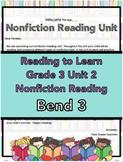 Nonfiction Reading Lesson Plans Bend 3 Grade 3