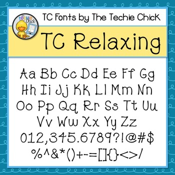 TC Relaxing font - Personal Use