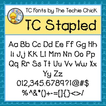 TC Stapled font - Personal Use