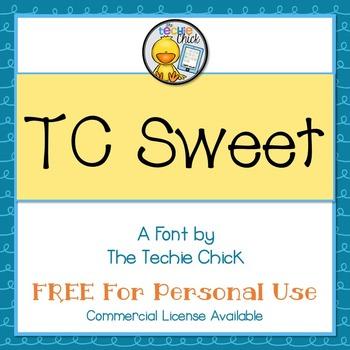 TC Sweet font - Personal Use