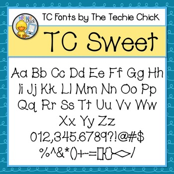 TC Sweet font - Personal Use