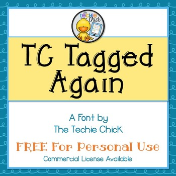 TC Tagged Again font - Personal Use