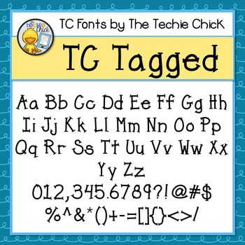 TC Tagged font - Personal Use