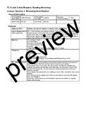 TC Teachers College Avid Readers Reading Unit Lesson Plans