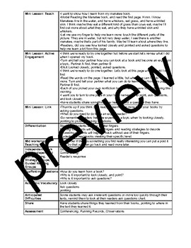 TC Teachers College If/Then Growing Expertise Nonfiction Lesson Plans/Anchor