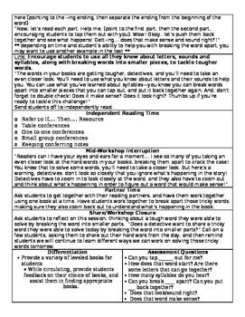 TC Word Detectives Grade 1 BEND 3 (Session 11-18) BUNDLE