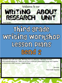 TC Writing About Research Bend 2 Grade 3 Writing Workshop