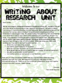 TC Writing About Research Lesson Plans 3rd Grade