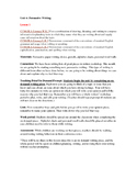 TC Writing Lesson Plans Kindergarten Persuasive Writing Unit