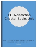 Teacher's College Writing Nonfiction Chapter Books Lesson