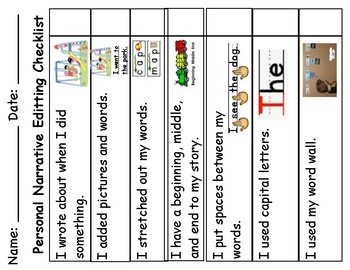 TC Writing Stories Narrative/Fiction/Realistic Differentiated Bundle & Charts