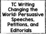 TC Writing Unit 3 Persuasive Writing LESSONS