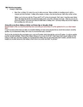 Lucy Calkins TC lesson plans Westward Expansion