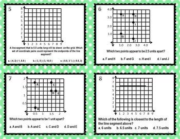 Coordinate Grid Task Cards {Math Center }