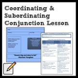 Middle School Grammar: Coordinating and Subordinating Conj