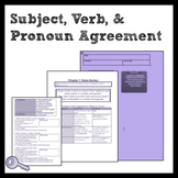 Middle School Grammar: Subject, Verb, and Pronoun Agreement