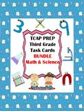 TCAP PREP - Third Grade Task Cards Bundle - Math & Science