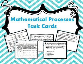 5th Grade Math Review Bundle {Task Cards, Scavenger Hunts, and Warm-Ups}