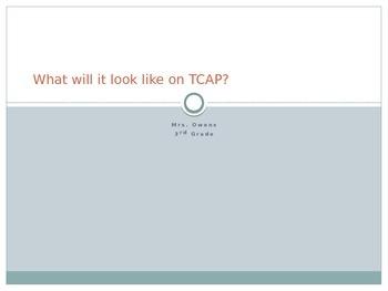 TCAP Review Sentences