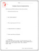 Test Prep / Test Taking Strategies and Vocabulary Practice