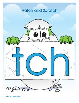 TCH (Hatch and Scratch) Word Buddy Poster