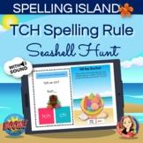 TCH Spelling Rule Boom Card Hunt Game