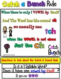 CH vs. TCH  (Barton Reading and Spelling Aligned Catch A Bunch AKA Catch Lunch)