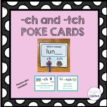 TCH and CH Poke Cards