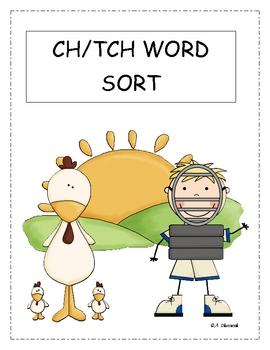 TCH/CH Word Sort