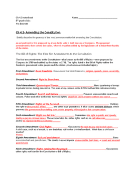 TCI Government Alive! Chapter 4-3 note sheet