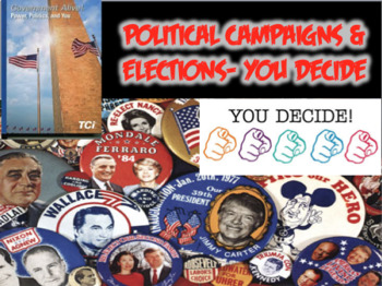 "TCI Government Alive!- Political Campaigns & Elections ""You Decide"" (Civics)"