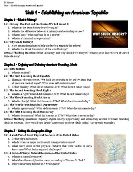 TCI Pursuing American Ideals Guided Reading Bundle