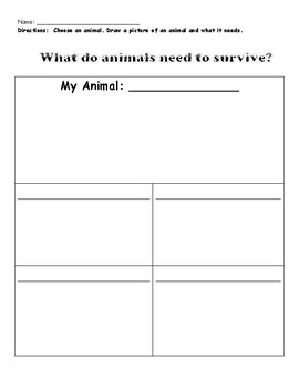 TCI Science Unit 1 Lesson 2 What Do Animals and Plants Need To Survive?