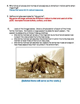 TCI's Social Studies Alive America's Past Chapter 2 Study Guide