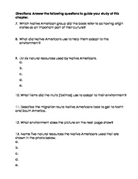 TCI's America's Past Chapter 2 Study Guide