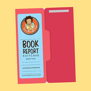 TCP Book Report Suitcase