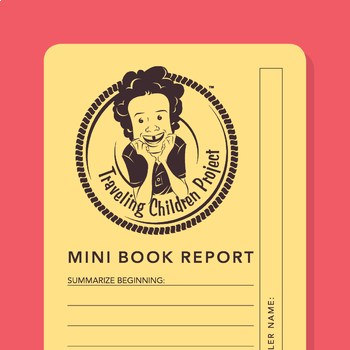 TCP BookmarkBrief: Mini Book Report Bookmark