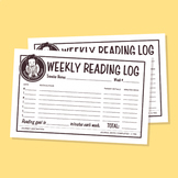 TCP Weekly Reading Log