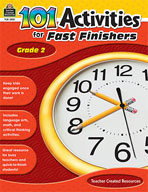 101 Activities For Fast Finishers (Grade 2) [Enhanced eBook]